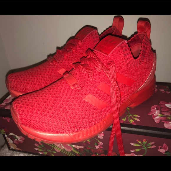 aaa2ea36fa ADIDAS RED MESH SNEAKERS WOMEN EVERY DAY WEAR GYM